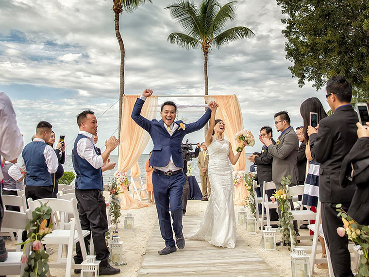 Florida destination wedding packages | Florida Keys beach wedding packages
