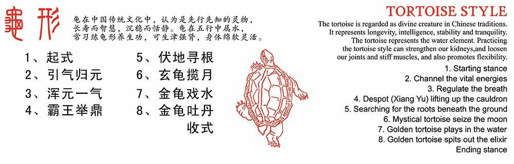 香港武當道緣堂 - 武當秘傳五形養生功之龜形