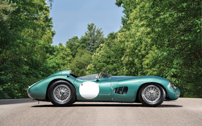 1956 Aston Martin DBR1 sells for 22.5 million dollars at the Monterrey Car Week Auction
