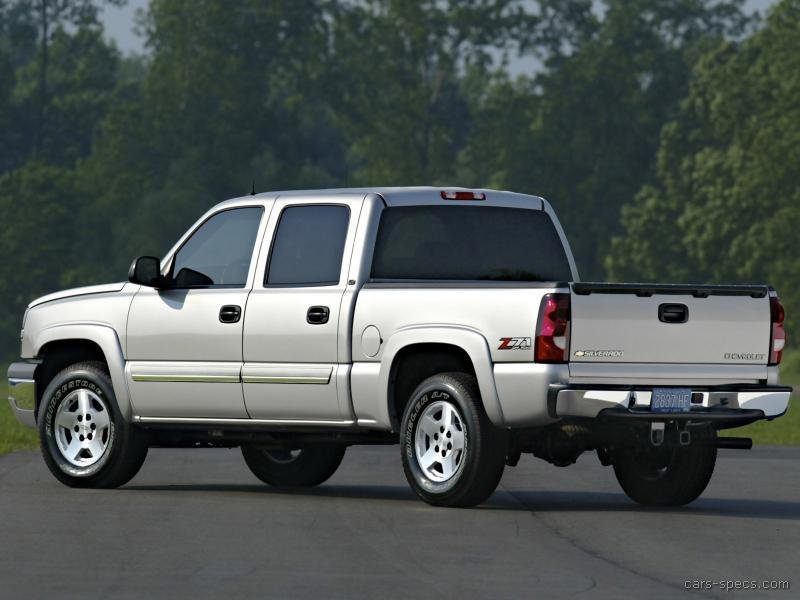 2003 Chevrolet Silverado 1500 Extended Cab Specifications
