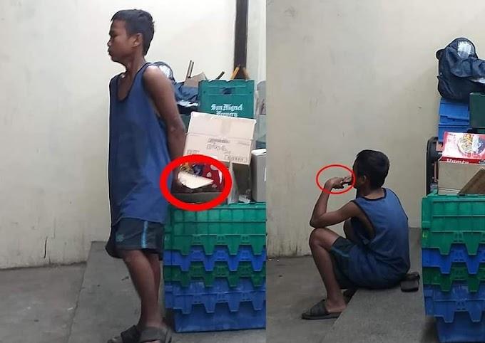 Bata, isang linggo nang kumakain ng karton bilang pantawid gutom! - Teachers ng Pinas