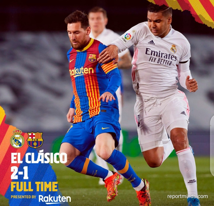 Lionel Messi shocking statistics after defeat to Real Madrid in El Clásico