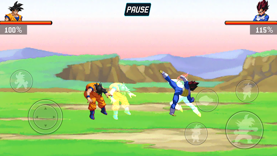 Dragon Warriors: Ball Z Screenshot