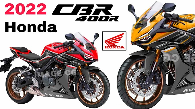 2022 Honda CBR400RR Render project is here.