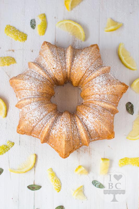 Bundt Cake de té al limón y jengibre