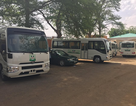 Africa Muslim Nations Jubilates As FG gifts 47 Vehicles, Multiple military equipment to Niger Republic