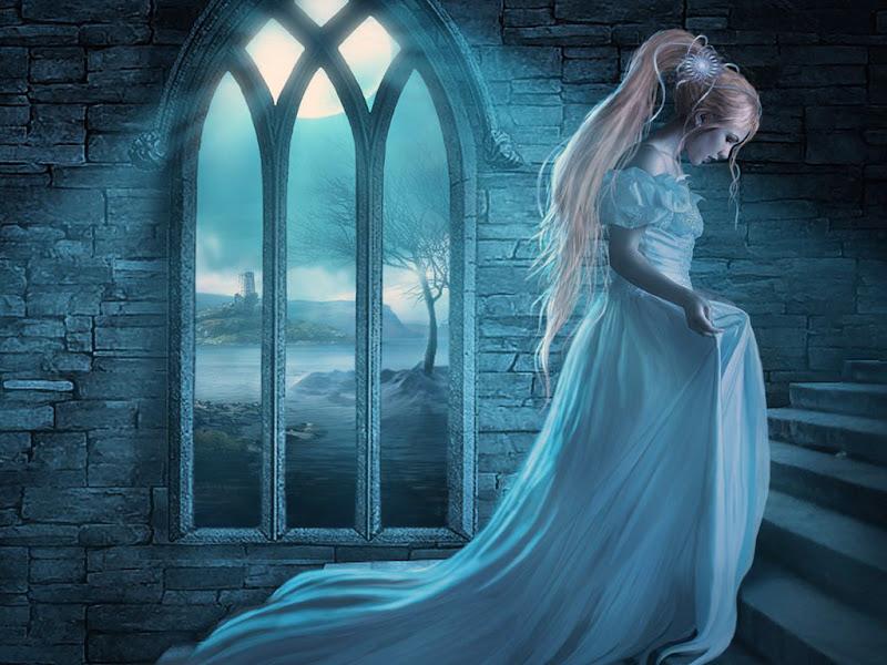 Moon In Castl Window, Moon Magic