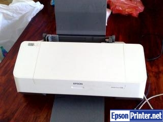 How to reset Epson C59 by program
