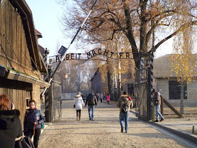 Auschwitz... the greatest failure of contemporary humanity