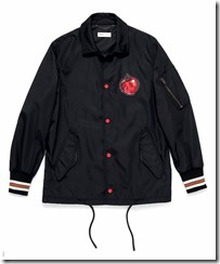 Dark Disney Coach's Jacket in Black (34200BLK)