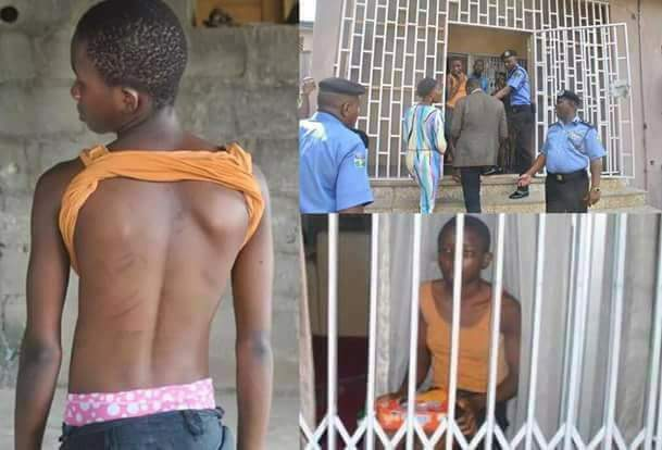 Police rescue housemaid always locked up for weeks whenever her boss is traveling