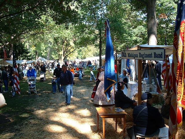 Rutherford B . Hayes Civil War Encampment - 2002_1005_125851AA.JPG