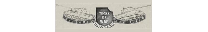 TIMES OF WAR