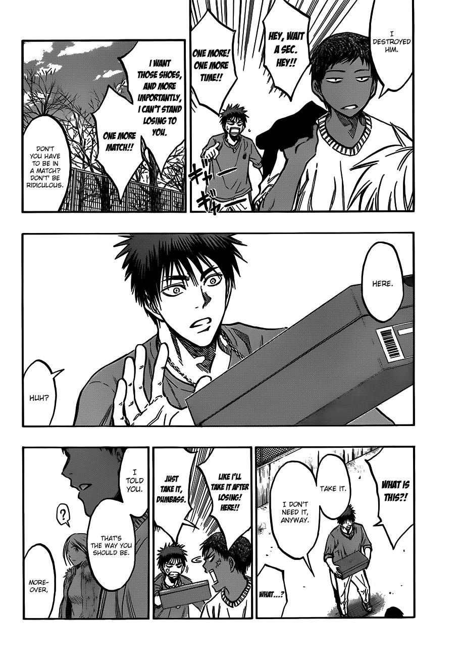 Kuroko no Basket Manga Chapter 174 - Image 14