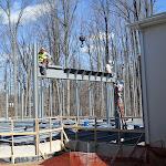 Hanging steel beam 1