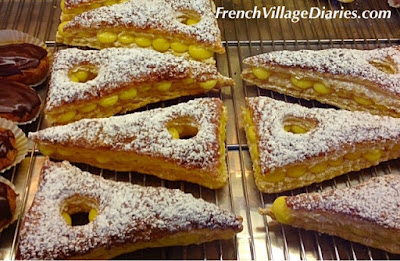French Village Diaries Easter France Cornuelles boulangerie patisserie
