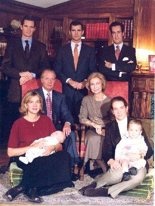 RETROSPECTIVA DE LA FAMILIA REAL Familia