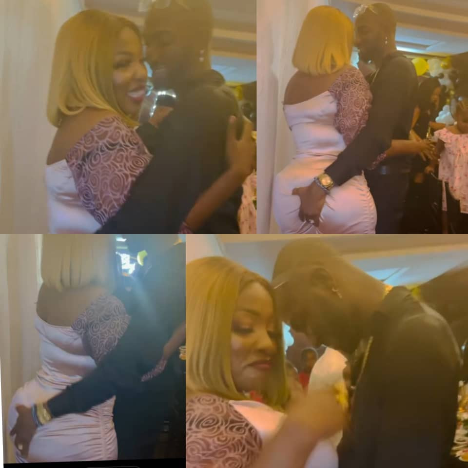Actress, Anita Joseph, shares raunchy video of her husband, MC Fish, grabbing her b*tt she they celebrate 4 years of knowing eachother