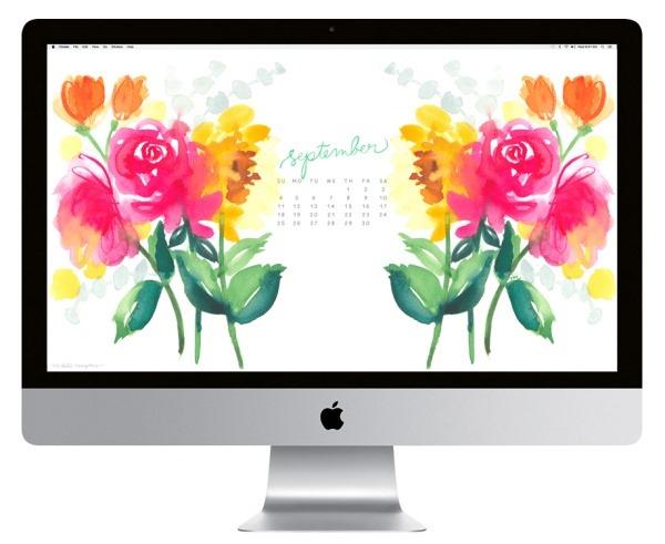 Settembre 2016 Calendario Wallpaper desktop