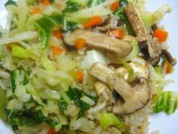 CƠM CHIÊN CHAY Fried rice vegetarian  Riz frits végétarien