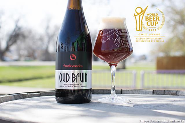 Funkwerks Oud Bruin Wins Gold Medal At 2018 World Beer Cup