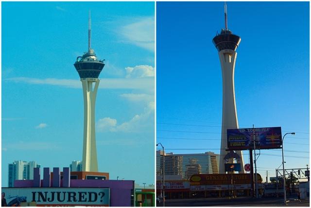 Las Vegas 2016 stratosphère