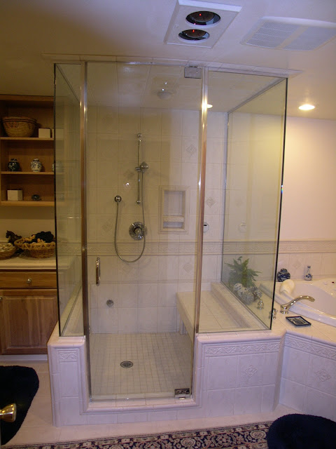 Very Open and Tasteful Shower