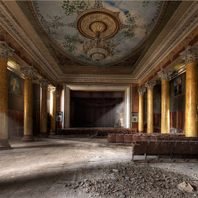 Lost Glory  by Roland Shanidze - Buildings & Architecture Public & Historical