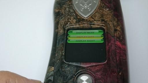 DSC 3109 thumb%255B3%255D - 【MOD】VICIOUS ANT 「KNIGHT STABWOOD #084(SX550J)」レビュー。YiHiハイエンドチップを搭載したスタビMOD!カラー液晶&Bluetooth【高級/スタビライズドウッド/電子タバコ/VAPE/フィリピン製】