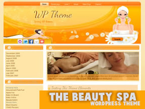 The Beauty Spa Free Wordpress Theme