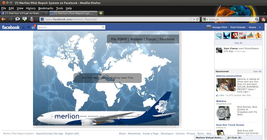 Merlion Facebook Portal Application! 2011-12-20_18-23-30