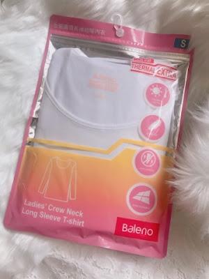 [時尚] 怕凍人士必入!❤ Baleno Thermal Extra 圓領長袖超暖內衣