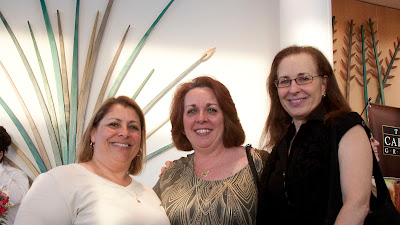 Diane Marichal, Paramus housing liaison, Council Member CathyBentz,Council Member Maureen O'Brien.