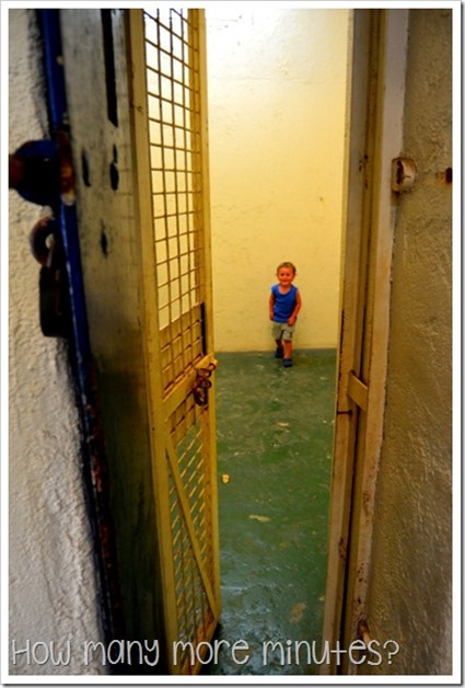 Fannie Bay Gaol in Darwin | How Many More Minutes?