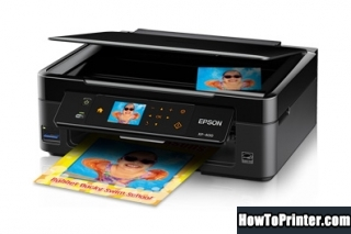 Reset Epson XP-400 End of Service Life Error message