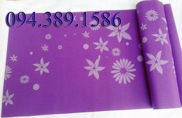 thảm yoga giá rẻ nhất hà nội