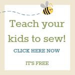 Grab button for Sewing with Kids
