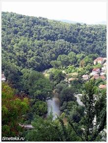 Река Янтра. Велико Тырново. Болгария