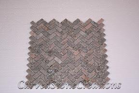 Flooring, Flooring & Mosaics, Herringbone, Interior, Mosaic, Natural, Quartzite, Stella Rosa, Stone, Tile