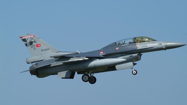 Τουρκικά F-16 παραβίασαν το FIR της Λευκωσίας