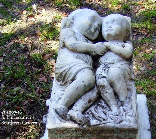 Hartmann Infants at Bonaventure Cemetery