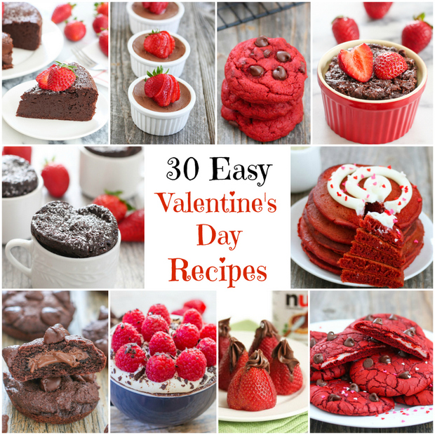 30 Easy Valentine S Day Recipes Kirbie S Cravings