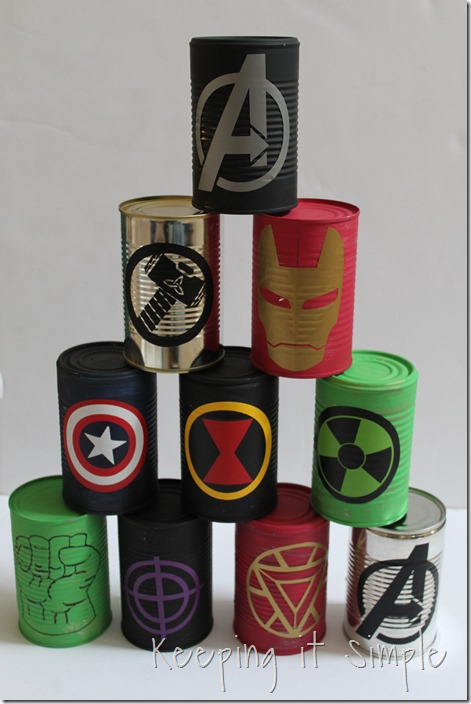 #ad Avengers-Halloween-Party-Game-Bowling-Cans #AvengersUnite (11)