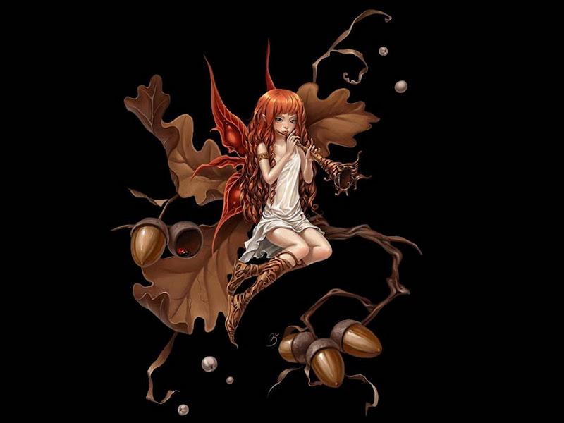 Fairy Of Oak Acorns, Fairies Girls 2