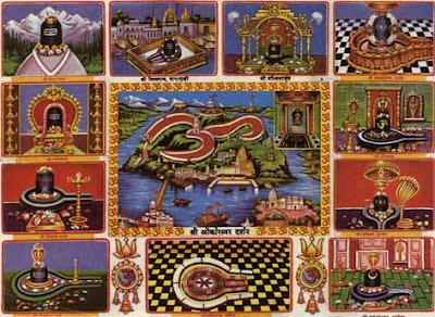 12 Jyotirlinga Temples of Shiva in India