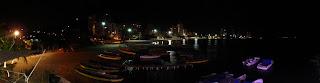 Panorámica nocturna de El Rodadero