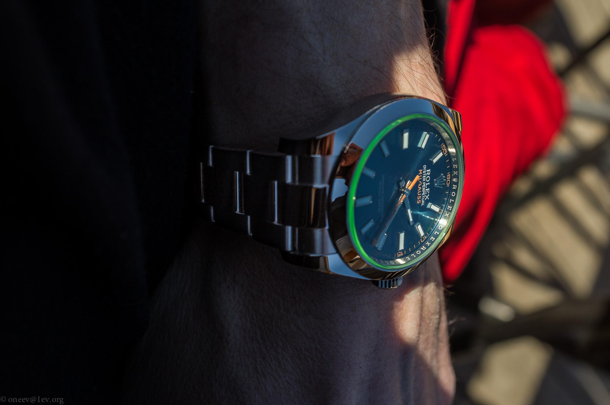 Revue illustrée de la Rolex Milgauss Z-Blue 20150226-DSCF6074
