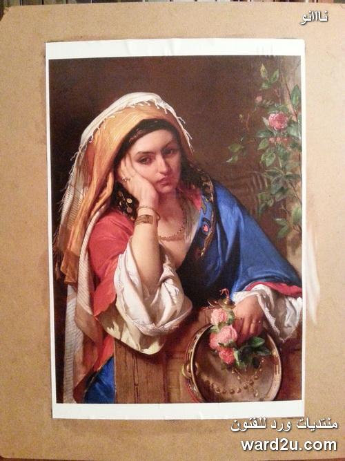 ديكوباج مجسم بورتريه للمستشرق الفنان Jean Francois