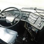 Het dashboard van de Bova Futura van Connexxion tours bus 165