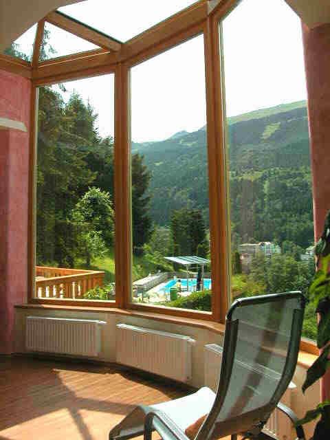 Ruheraum des Hotels Alpenblick in Bad Gastein